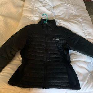 Columbia black coat
